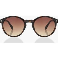 Plastic Frame Sunglasses - black
