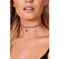 Star Chain Choker - gold