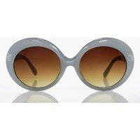 Retro Round Sunglasses - grey