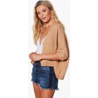 Cape Cardigan - camel