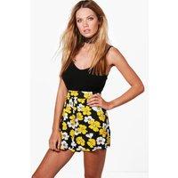 Daisy Print Flippy Shorts - multi
