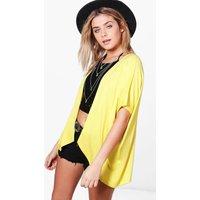 Jersey Kimono - yellow