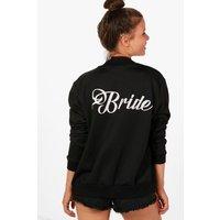 Bride Bomber Jacket - black
