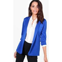 Fitted Blazer - cobalt