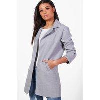 Collared Coat - grey