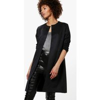 Suedette Edge To Edge Jacket - black