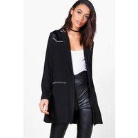 Western Tailored Blazer - black