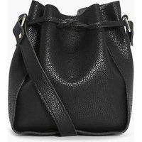 Structured Duffle Bag - black