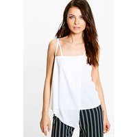 Wrap Front Cami - ivory