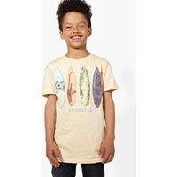 Surf Board T-Shirt - peach