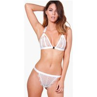 Lace String - white
