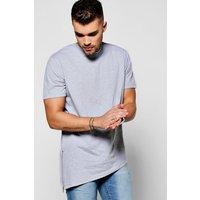 Zipper T-Shirt - grey