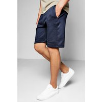 Shorts With Sports Zip - navy