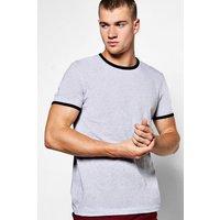 Rib T-Shirt - grey