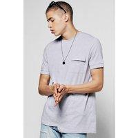 Pocket T-Shirt - grey