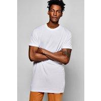 Longline T Shirt - white