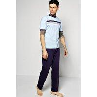Detail Pyjama Set - navy
