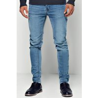 Blue Skinny Jeans - blue