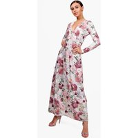 Alisha Floral Print Maxi Dress - multi