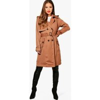 Sharlene Longline Trench - chestnut