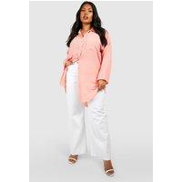 Eva Oversized Shirt - rust