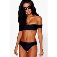 Bardot Bandeau Bikini - black