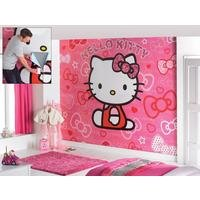 hello kitty walltastic murals