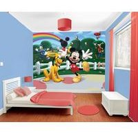 disney mickey mouse clubhouse 12 panel wall mural