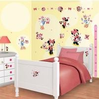 disney minnie mouse room decor kit