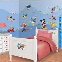disney mickey mouse clubhouse room decor kit