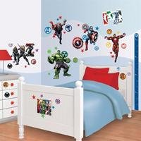 walltastic: avengers assemble room decor kit