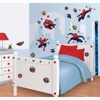 walltastic: ultimate spiderman room decor kit