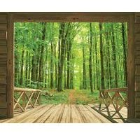 walltastic woodland forest 12 panel wall mural