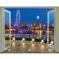 walltastic london skyline 12 panel wall mural