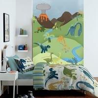 dino wallpaper mural