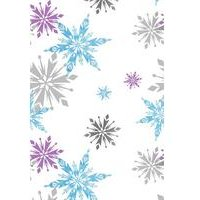 frozen snowflake wallpaper