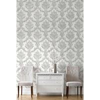 opal damask wallpaper