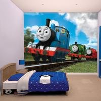 thomas and friends wallpaper mural