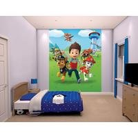 paw patrol wallpaper mural