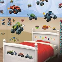 blaze and the monster machines room decor kit