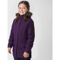 Peter Storm Girls Waterproof Parka, Purple