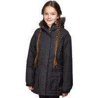 Peter Storm Girls Waterproof Parka, Black