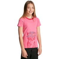 Peter Storm Girls Cool Cat T-Shirt, Pink