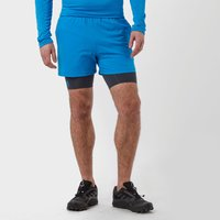 Under Armour Mens UA Mirage 2-in-1 Training Shorts, Blue