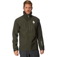 Black Diamond Mens Dawn Patrol Jacket, Green