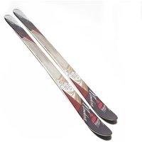 Nordica Womens Wild Belle Ski, Black/White/Red