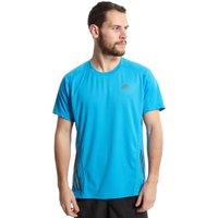 Adidas Mens SuperNova Short Sleeve Tee, Blue