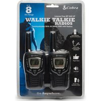 Pama Cobra MT645 Walkie Talkie Radio Twin Pack, Black