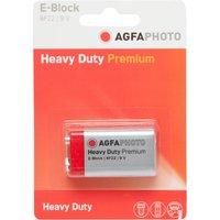 Agfa Zinc Chloride 9V Battery, Assorted