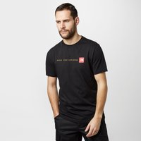 The North Face Mens Never Stop Exploring T-Shirt, Black